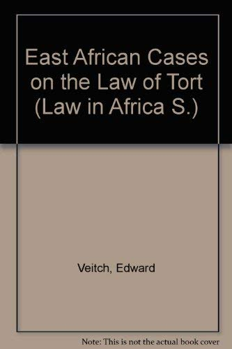 9780421163201: East African Cases on the Law of Tort (Law in Africa)