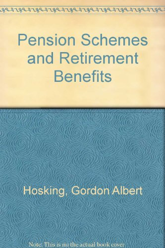 9780421192904: Pension Schemes and Retirement Benefits