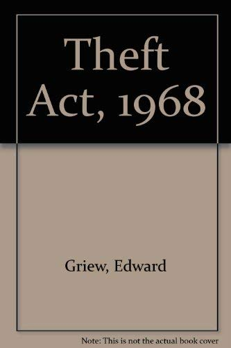 Theft Act, 1968: Griew, Edward
