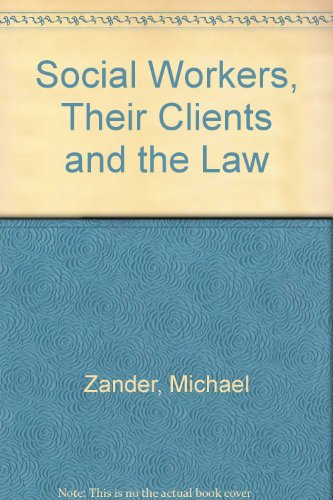 9780421206205: Social Workers, Their Clients and the Law