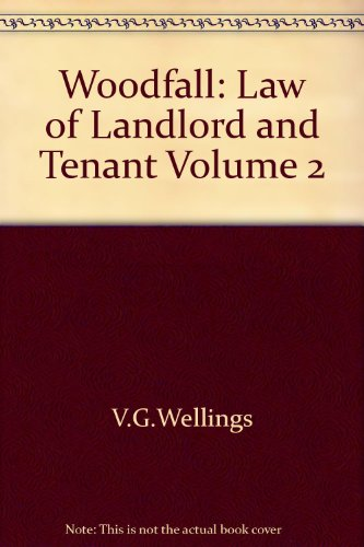 9780421228207: Woodfall: Landlord and Tenant