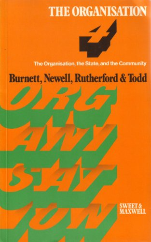 4. The Organisation, the State, and the Community: Burnett, D.; Newell, M.J.; Rutherford, L.A. & ...