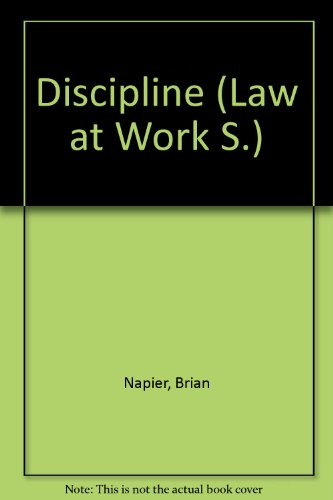 Discipline.: Napier, Brian