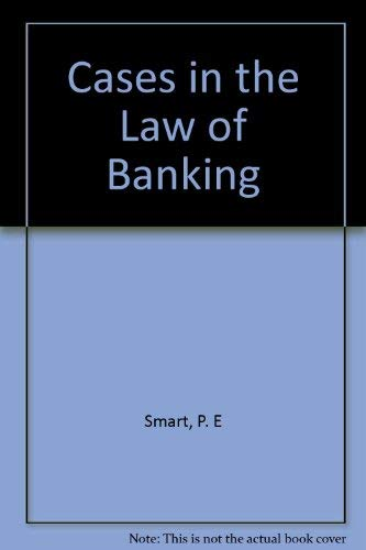 9780421282902: Cases in the law of banking 1977-80