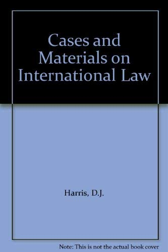 9780421292703: Cases and Materials on International Law