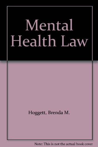 9780421302204: Mental Health Law