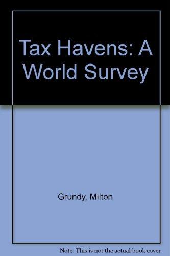 9780421314306: Tax Havens: A World Survey