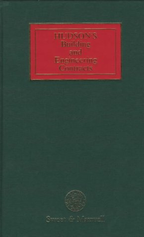 9780421332607: Hudson's Building and Engineering Contracts (Vol.1)