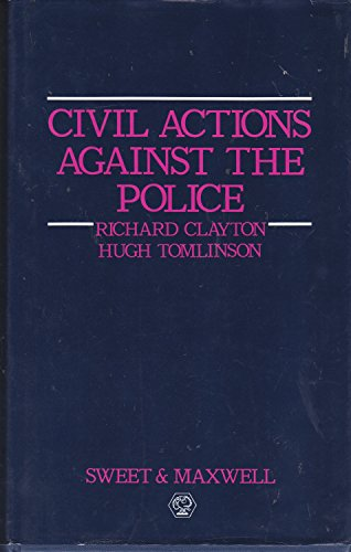 9780421344204: Civil Actions Against the Police