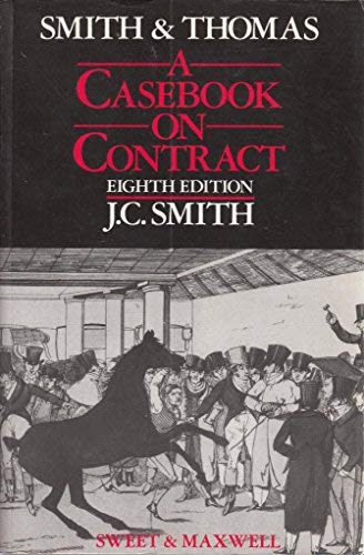 9780421346208: Casebook on Contract