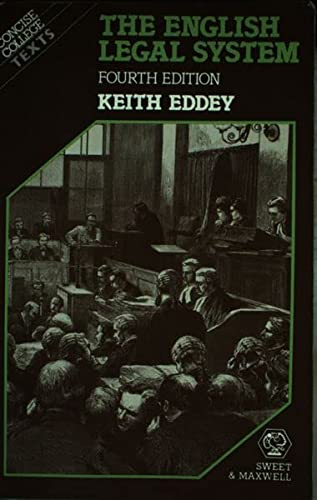 9780421354104: The English Legal System (Concise College Texts)