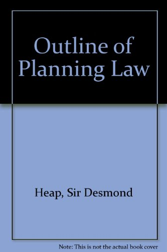 9780421354500: Outline of Planning Law