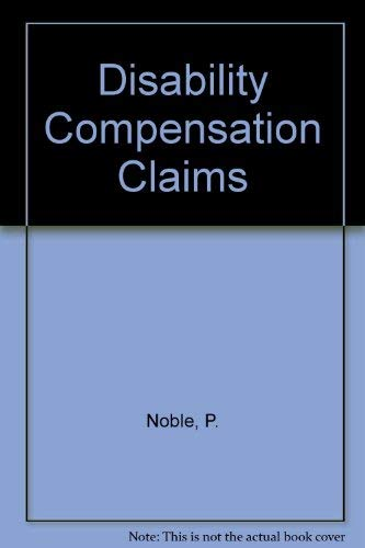 9780421368903: Disability Compensation Claims
