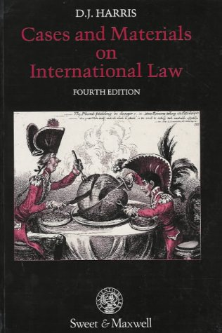 9780421374805: Cases and Materials on International Law