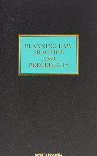 9780421388505: Planning Law, Practice and Precedents