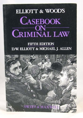 9780421404809: Casebook on Criminal Law