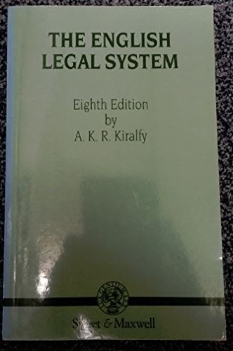9780421424708: The English Legal System