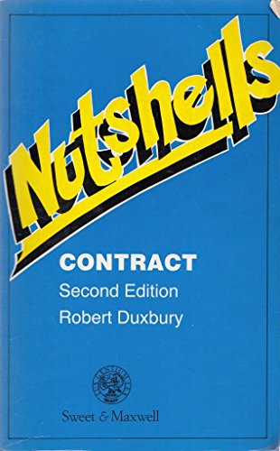 9780421425002: Contract Law (Nutshell)
