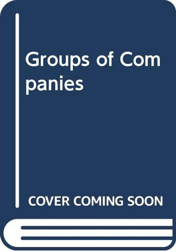 9780421432406: Groups of Companies