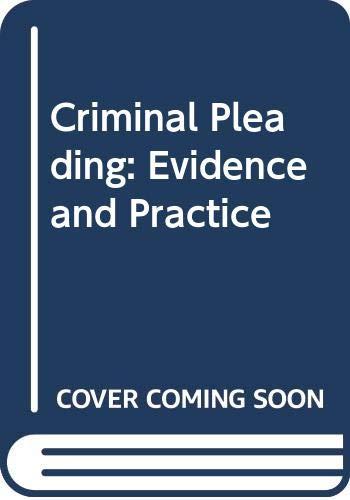 9780421470002: Archbold Criminal Pleading Evidence & Practice