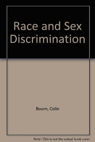 9780421472402: Race and Sex Discrimination