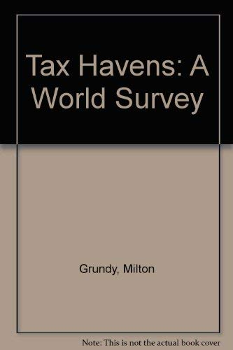 9780421475106: Grundy's tax havens: Offshore Business centres: a world survey