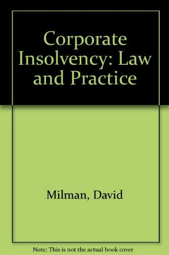 9780421482906: Corporate Insolvency: Law and Practice