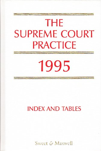 9780421494800: Supreme Court Practice 1995 with Supplement