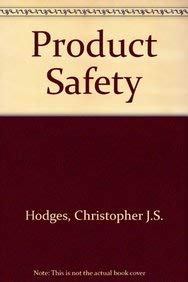 9780421503700: Product safety