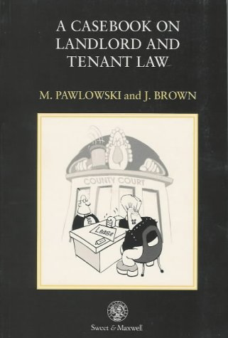 9780421505001: A Casebook on Landlord and Tenant Law
