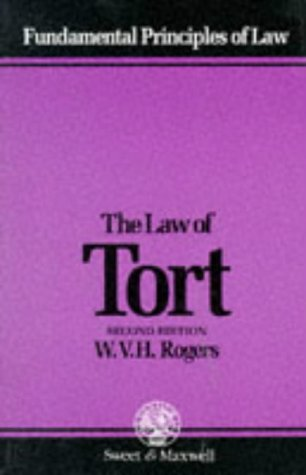 The Law of Tort.: Rogers, W V H