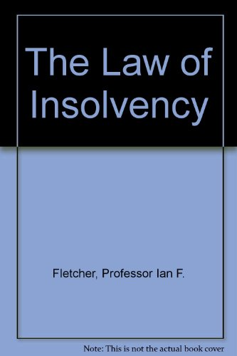 9780421511408: The Law of Insolvency