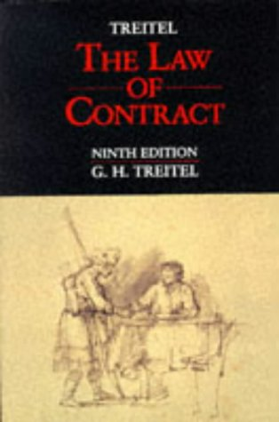 9780421519701: The Law of Contract