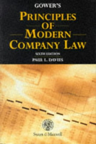 9780421524804: Gower's Principles of Modern Company Law