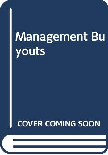 Management Buyouts: Dwyer, Maurice