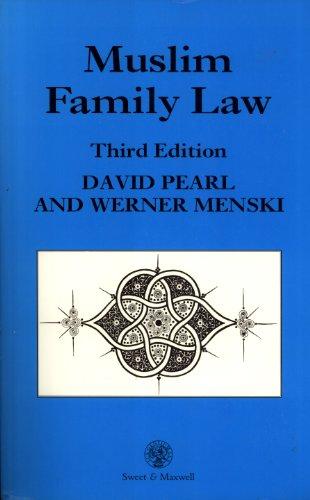 9780421529809: Muslim Family Law