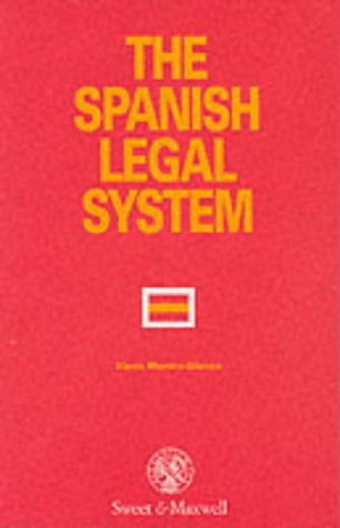 9780421549302: The Spanish Legal System