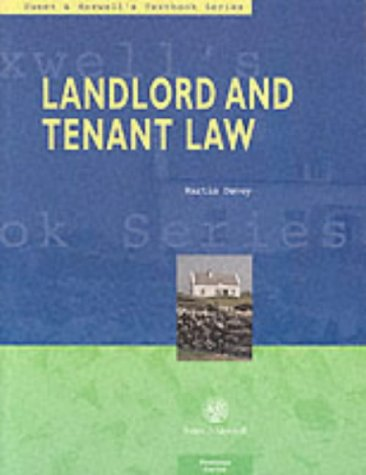 9780421556706: Landlord and Tenant Law (Textbook)