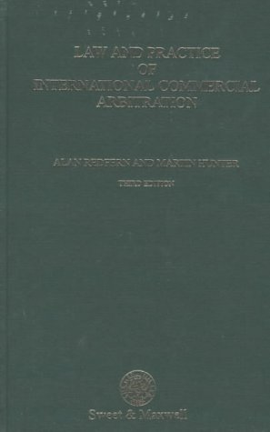 9780421561304: Law and Practice of International Commercial Arbitration