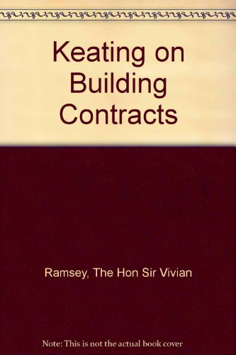 9780421565302: Keating on Building Contracts