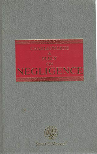 9780421569904: Charlesworth & Percy on Negligence (The Common Law Library, No. 6)
