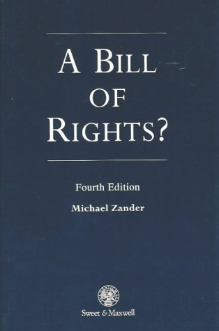 9780421584303: A Bill of Rights?