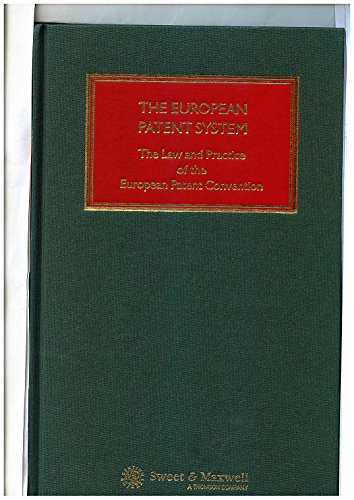 9780421586000: The European Patent System