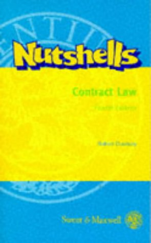 9780421595804: Contract Law in a Nutshell - 4th edition