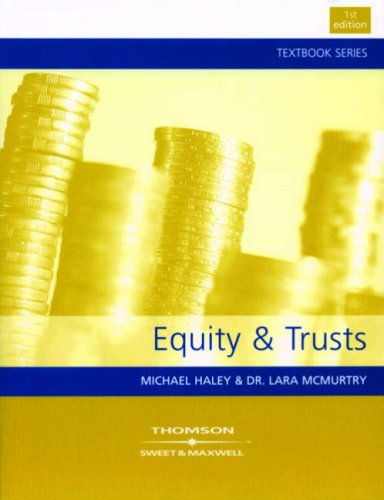9780421599208: Equity and Trusts (Textbook)
