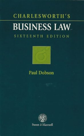 9780421604001: Charlesworth's Business Law