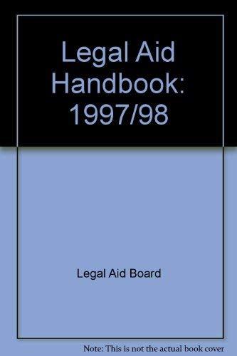 9780421608108: Legal Aid Handbook: 1997/98