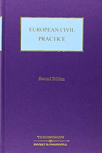 9780421608603: European Civil Practice