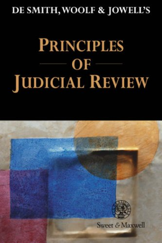 9780421620209: De Smith, Woolf, & Jowell's Principles of Judicial Review