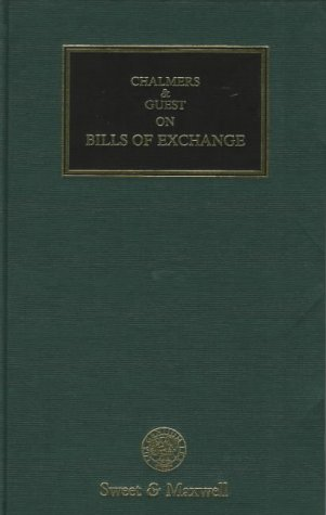 Chalmers and Guest on Bills of Exchange: Guest, A. G.
